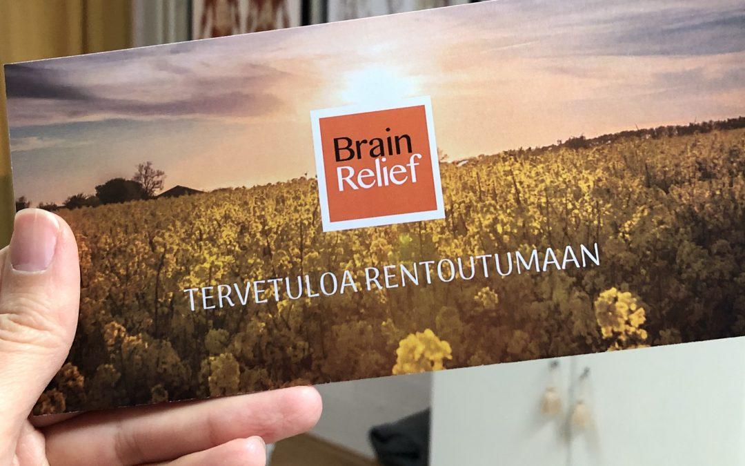 Brain relief -kesäkamppis
